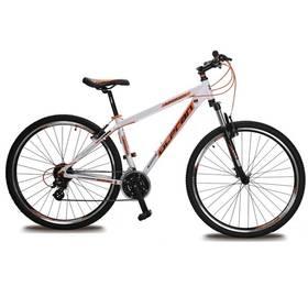 """Olpran APOLLO 11 29"""" bílé/oranžové Sada cyklodoplňků (zvonek+blikačka+světlo) pro kolo dospělé (zdarma) + Doprava zdarma"""