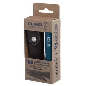 Opinel N°08 Trekking handle + sheath set (nůž, pouzdro) modrý
