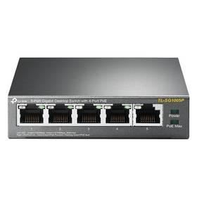 Switch TP-Link TL-SG1005P (TL-SG1005P) černý
