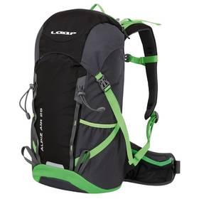 Loap ALPIZ AIR 25 black/green + Taška přes rameno Coleman ZOOM - (1L, černá), 12 x 15 x 8,5 cm, 160 g, vhodná na doklady, mobil, klíče v hodnotě 259 Kč