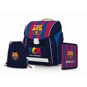 P + P Karton PREMIUM FC Barcelona Sáček na přezůvky P + P Karton OXY Neon Dark Blue (zdarma) + D