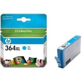 HP No. 364XL, 750 stran - originální (CB323EE) modrá