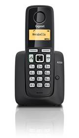 Domáci telefón Siemens Gigaset A220 (S30852-H2411-R601) čierny