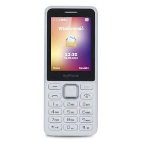 myPhone 6310 Dual SIM (TELMY6310WH) bílý SIM s kreditem T-Mobile Twist V síti 200 Kč kredit (zdarma)