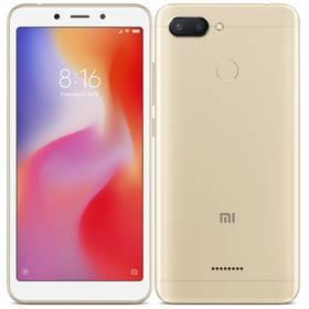Xiaomi Redmi 6 Dual SIM 4GB/64GB (19629) zlatý SIM s kreditem T-Mobile 200Kč Twist Online Internet (zdarma)Software F-Secure SAFE, 3 zařízení / 6 měsíců (zdarma)