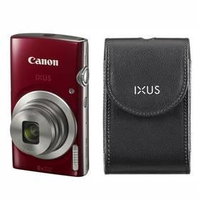 Canon IXUS 185 + orig.pouzdro červený + Doprava zdarma