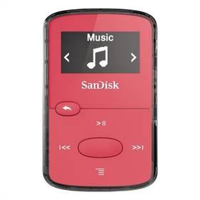Sandisk Sansa Clip JAM 8 GB (SDMX26-008G-G46P) růžový