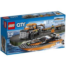 Lego® City Great Vehicles 60085 Motorový člun 4x4