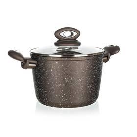 BANQUET Premium, kastrol s poklicí, 20 × 13,5 cm, tmavě hnědá (437984)