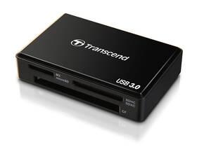 Čítačka pamäťových kariet Transcend RDF8 USB 3.0 (TS-RDF8K) čierna
