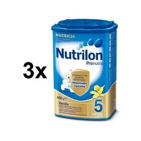 Nutrilon 5 Pronutra Vanilka, 800g x 3ks + Doprava zdarma
