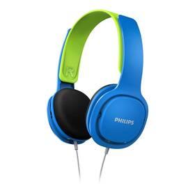 Philips SHK2000 (SHK2000BL/00) modrá/zelená