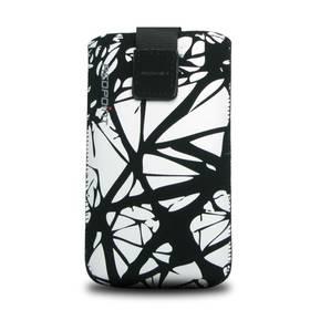 FIXED Velvet White Cracks, XXL (RPVEL-013-XXL) černé/bílé