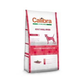 Calibra Dog Grain FreeAdult Small Breed Duck 7kg + Antiparazitní obojek za zvýhodněnou cenu