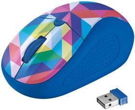 Trust Primo Wireless - blue geometry (21480) (vrácené zboží 8800351680)