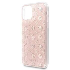 Guess 4G Peony Glitter na Apple iPhone 11 Pro Max (GUHCN65TPERG) růžový (vrácené zboží 8800444926)