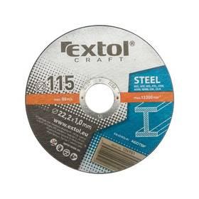 EXTOL CRAFT na kov, 5ks, 230x2,5x22,2mm
