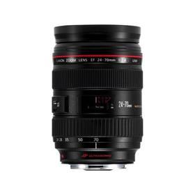 Canon EF EF 24-70mm f/2.8 (5175B005AA) čierny