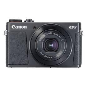 Canon PowerShot PowerShot G9 X Mark II Black (1717C002) černý Paměťová karta Kingston SDXC 64GB UHS-I U1 (90R/45W) (zdarma) + Doprava zdarma