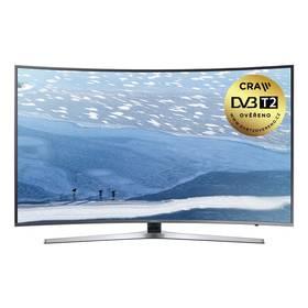 Samsung UE55KU6652 stříbrná + K nákupu poukaz v hodnotě 2 000 Kč na další nákup + Doprava zdarma