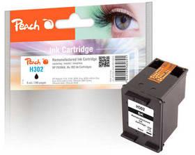Inkoustová náplň Peach HP 302,215 stran, kompatibilní (319602) černá