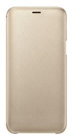 Samsung Wallet Cover pro Galaxy J6 (EF-WJ600C) (EF-WJ600CFEGWW) zlaté