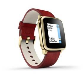 Pebble Time Steel Smartwatch (51100036) zlatá Dooble KIDS ADC Blacfire (zdarma) + Doprava zdarma