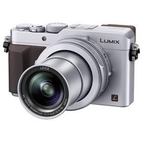 Panasonic DMC-LX100EPS stříbrný + Doprava zdarma