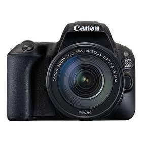 Canon EOS 200D + 18-135 IS STM (2250C028) černý