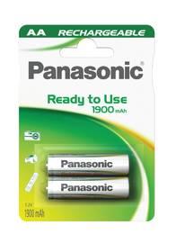 Panasonic Eneloop Smart-Quick Charger pro AA,AAA + 4x Panasonic Eneloop 1900mAh (K-KJ55MCC40E) biela