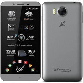 Allview V2 Viper S Dual SIM šedý
