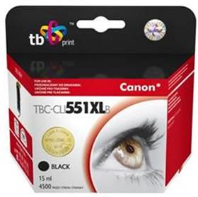 TB Canon CLI-551XL - kompatibilní (TBC-CLI551XLB) čierna
