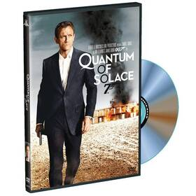 Disk DVD s nahrávkou Quantum of Solace