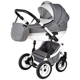 Kočík kombinovaný Baby Sky 2v1 Stratos 2016, grey sivý