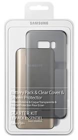 Samsung Clear Cover + Baterry Pack pro Galaxy S8+ (EB-WG95EBBEGWW) zlatý + Doprava zdarma