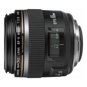 Canon EF-S 60mm f/2,8 (0284B013AA) černý + Doprava zdarma