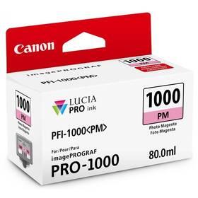 Canon PFI-1000 PM, 80 ml Foto červená (0551C001)