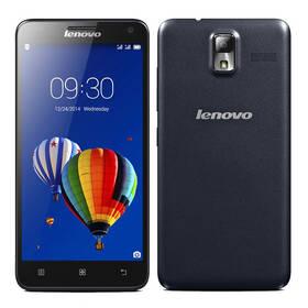 Mobilný telefón Lenovo S580 Dual Sim + zadní kryt a fólie (P0RH000PCZ) čierny (vrátený tovar 4310005624)