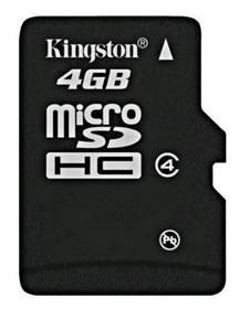 Kingston MicroSDHC 4GB Class4 (SDC4/4GBSP)