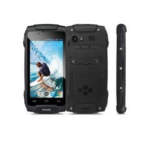 Evolveo StrongPhone Q8 LTE (SGP-Q8-LTE-B) černý SIM s kreditem T-mobile 200Kč Twist Online Internet (zdarma) + Doprava zdarma