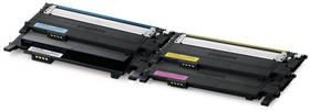 Samsung CLT-P406C, 1000 stran - originální (CLT-P406C/ELS) černý/červený/modrý/žlutý + Doprava zdarma