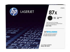 HP CF287X laserjet (CF287X) černý + Doprava zdarma