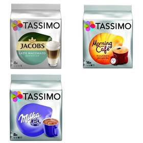 Tassimo Jacobs Krönung Latte Macchiato less sweet + Morning Café + Milka