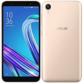Asus Zenfone LIVE (ZA550KL-4G006EU) zlatý SIM s kreditem T-Mobile 200Kč Twist Online Internet (zdarma)