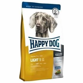 HAPPY DOG LIGHT 1 - Low Carb 12,5 kg + Antiparazitní obojek za zvýhodněnou cenu + Doprava zdarma
