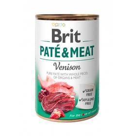 Brit Dog  Paté & Meat Venison 400 g