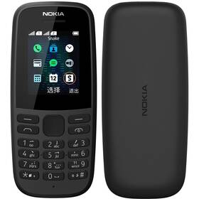 Nokia 105 (2019) (16KIGB01A04) černý (vrácené zboží 8800984792)