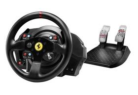 Thrustmaster T300 Ferrari GTE pro PS3, PS4, PC + pedály (4160609) černý + Doprava zdarma