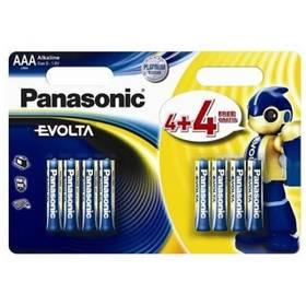 Baterie alkalická Panasonic Evolta AAA, LR03, blistr 4+4ks (226839)