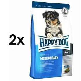 HAPPY DOG MEDIUM Baby 28 2 x 10 kg + Doprava zdarma